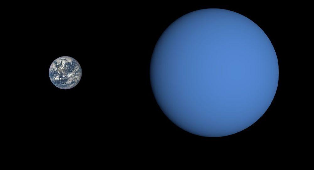 Gliese 3470 b i Ziemia