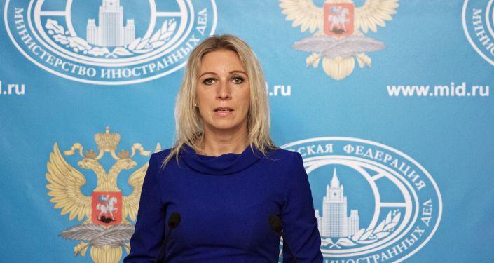 Rzeczniczka MSZ FR Maria Zacharowa
