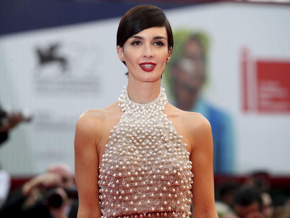 Hiszpańska aktorka Paz Vega podczas ceremonii otwarcia 72. Międzynarodowego Festiwalu Filmowego w Wenecji