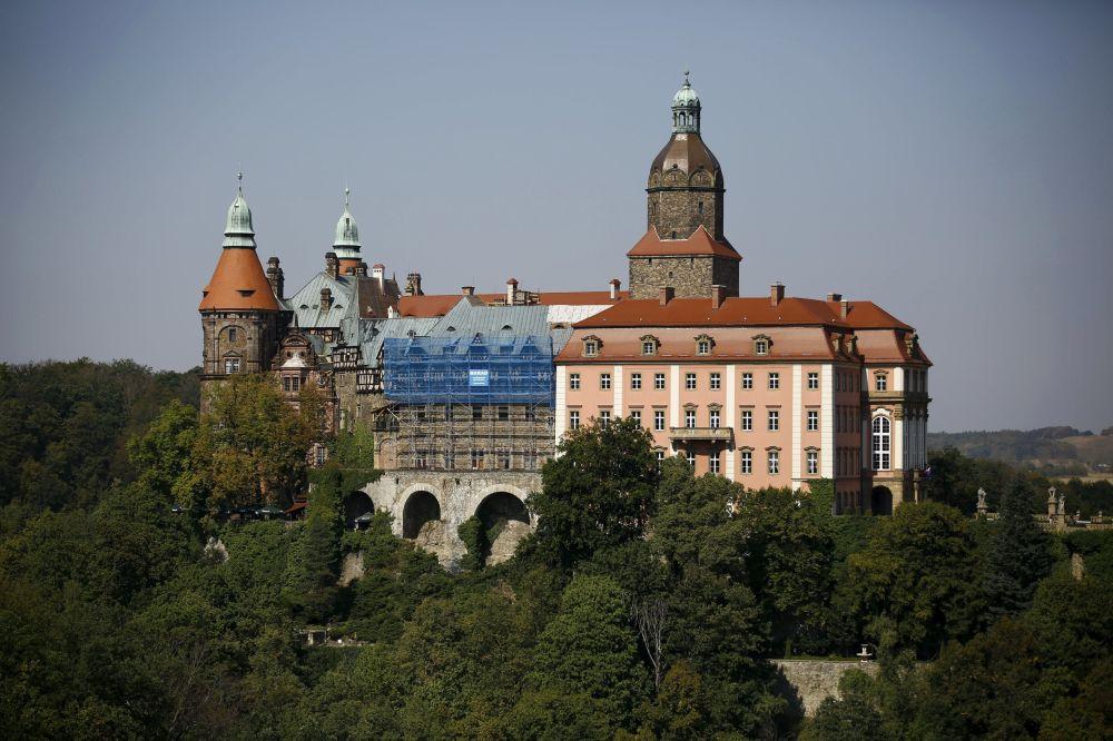 Zamek Książ w Walbrzychu