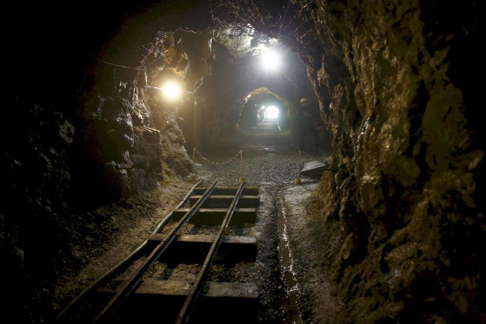 Tunel w pobliżu Wałbrzycha