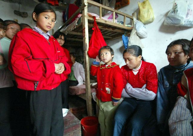 Chińskie uczennice
