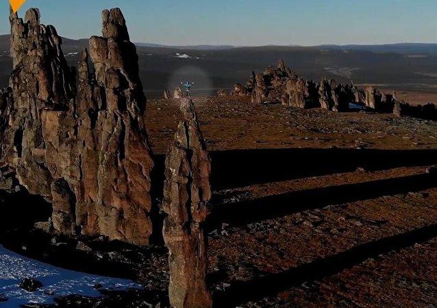 Syberyjskie skały