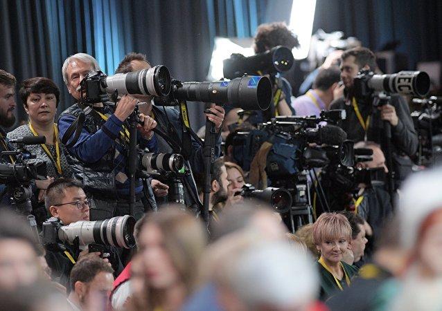 Doroczna konferencja prasowa Władimira Putina 2018