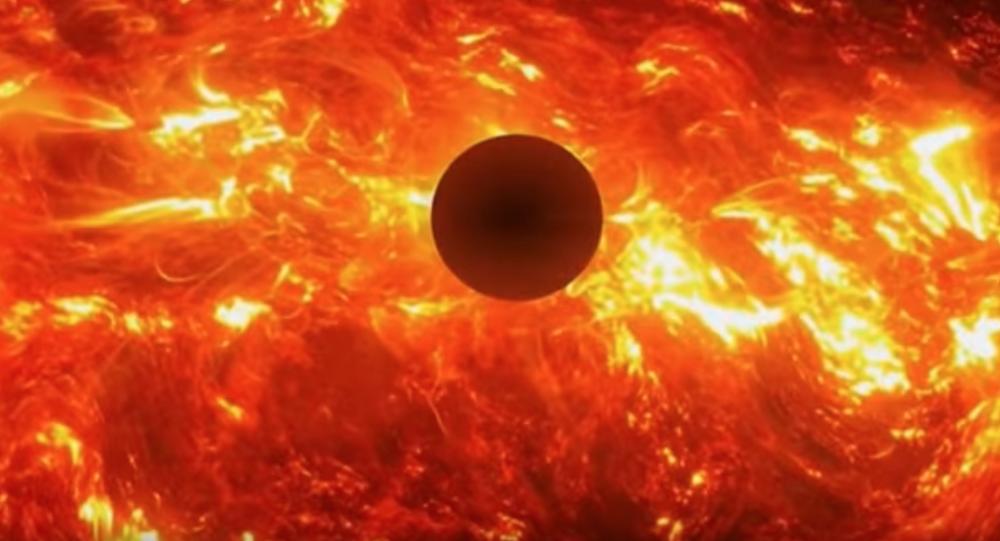 Zrzut ekranu z wideo Kiedy spłonie Ziemia