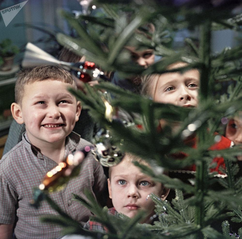 Choinka dla dzieci, 1966 rok