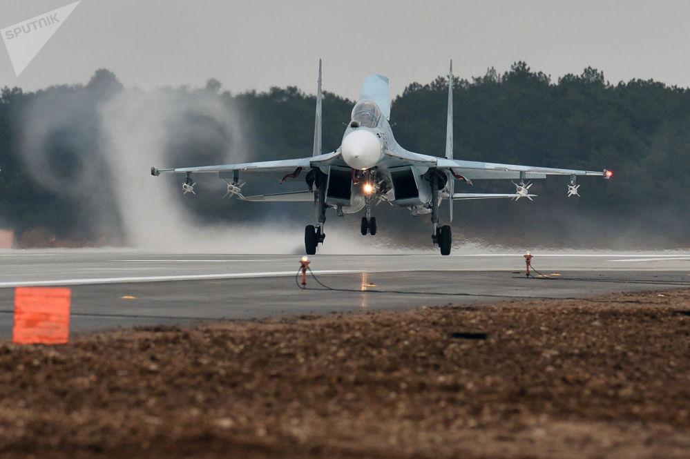 Myśliwiec Su-30M2