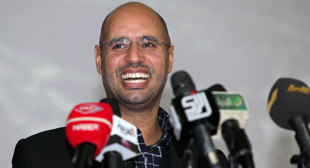 Syn Muammara Kaddafiego Sajf al-Islam