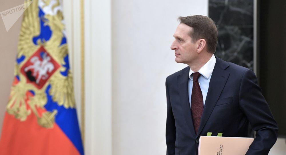 Dyrektor Służby Wywiadu Zagranicznego Siergiej Naryszkin