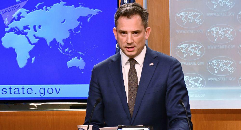 Wiceprzewodniczący departamentu stanu USA Robert Palladino