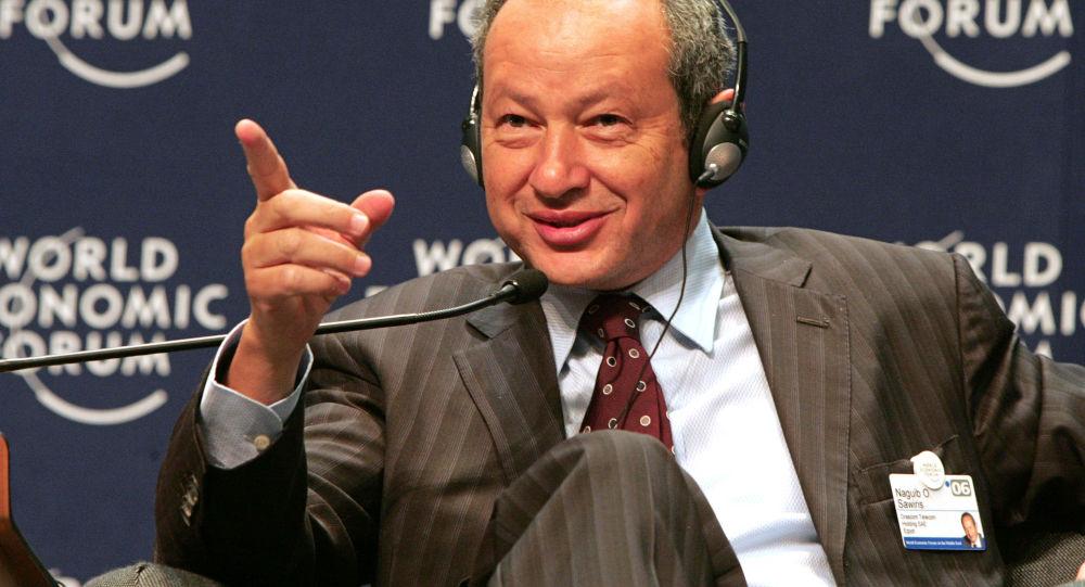 Egipski biznesmen Naguib Saveyris
