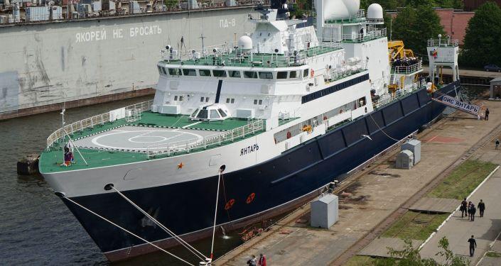 Statek badawczy Jantar