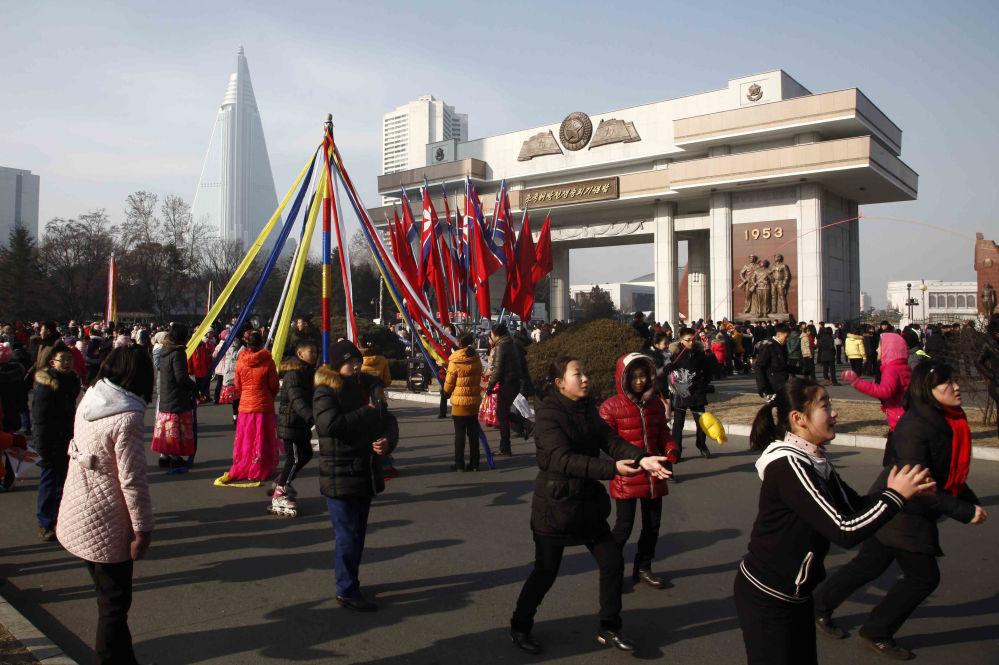 1 stycznia w Pjongjangu