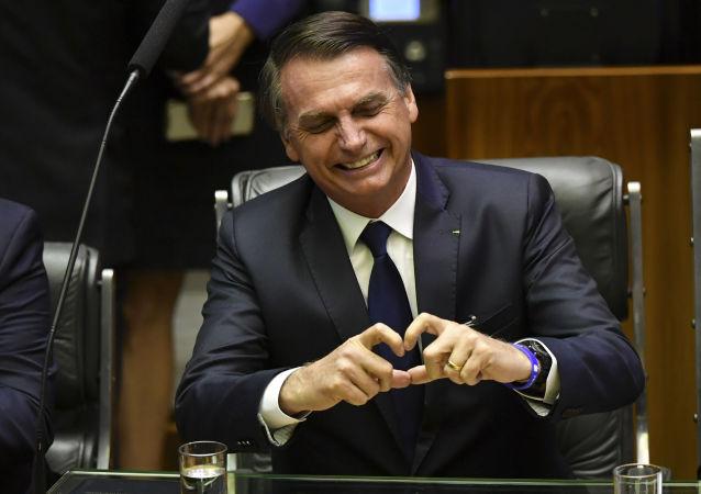Prezydent Brazylii Jari Bolsonaro
