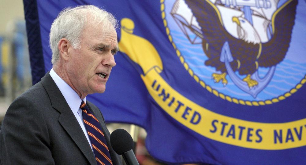 Sekretarz marynarki wojennej USA Richard Spencer