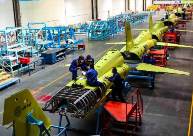 Budowa myśliwców, Iran