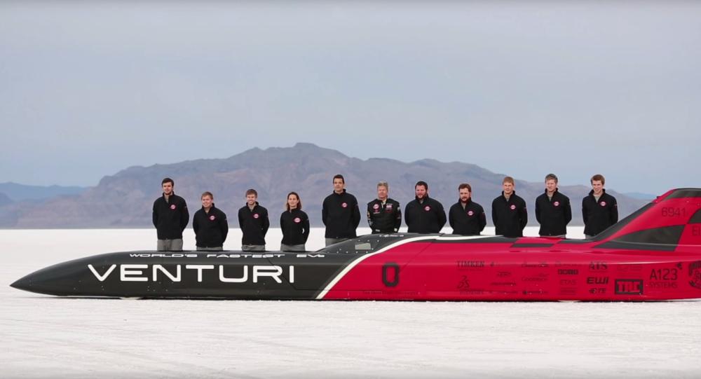 Załgoa Venturi na mistrzostwach świata w wyścigach samochodów elektrycznych