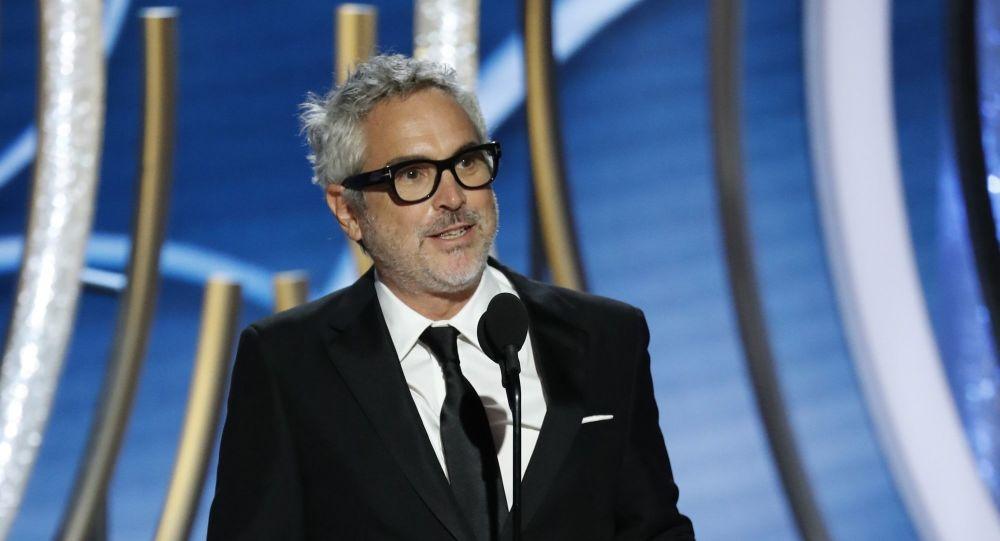 Meksykański reżyser Alfonso Cuaron, którego film Roma otrzymał nagrodę w kategorii Najlepszy film nieanglojęzyczny
