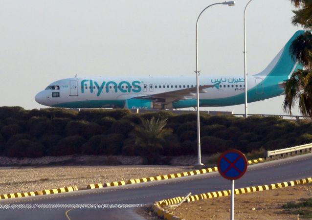 Samolot saudyjskich linii Flynas