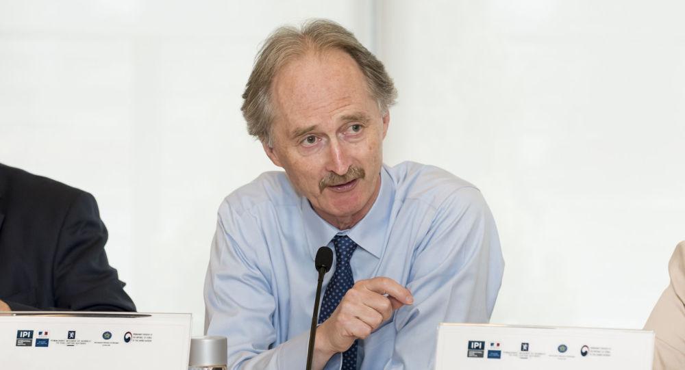 Specjalny wysłannik ONZ ds. Syrii Geir Pedersen
