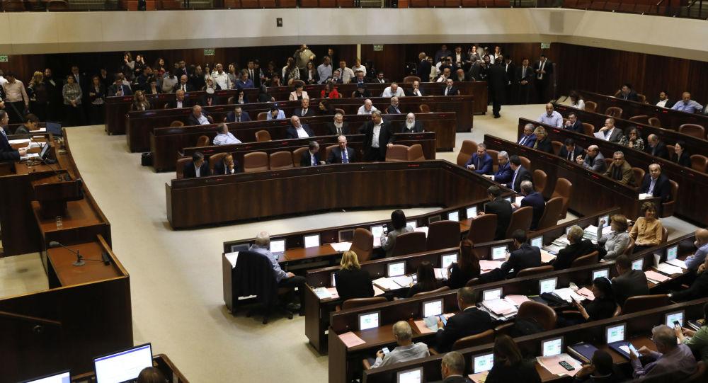 Posiedzenie izraelskiego parlamentu