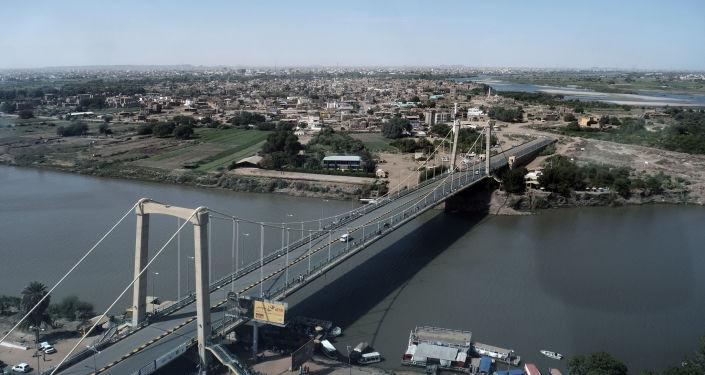 Widok na stolicę Sudanu Chartum