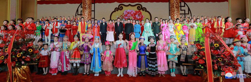 Kim Dzong Un podczas wizyty w Pekinie
