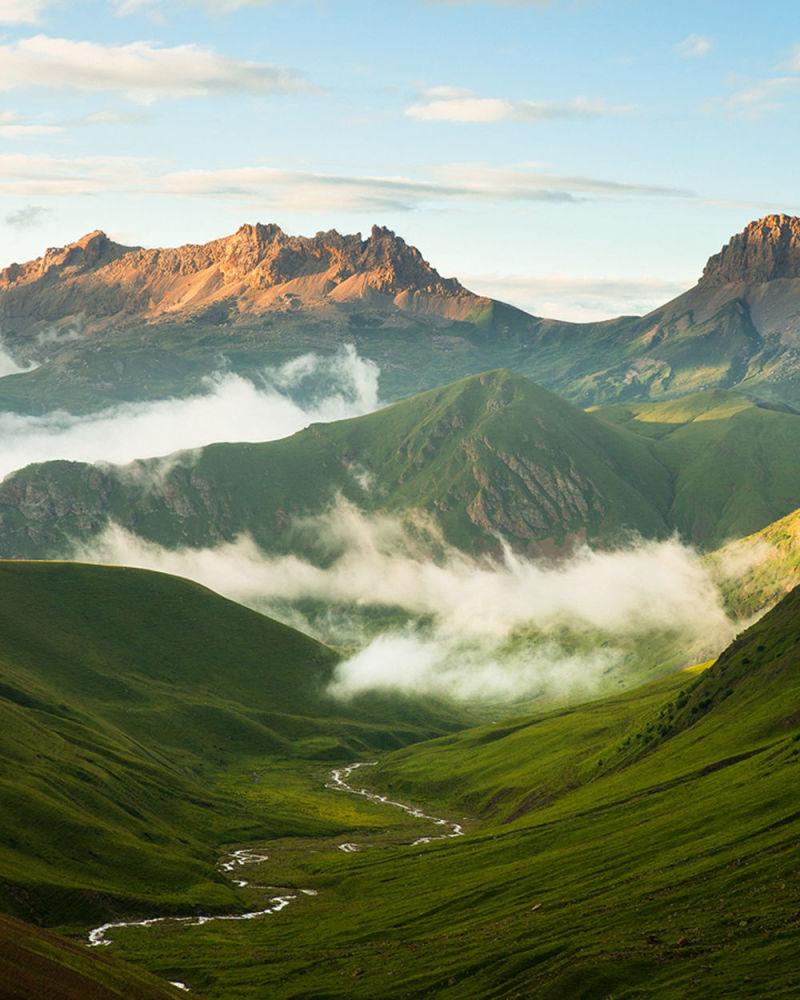 """Park Narodowy """"Alania"""" w Północnej Osetii"""