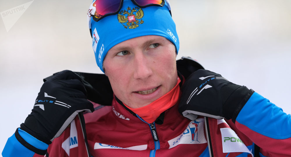 Rosyski biathlonista Aleksander Powarnicyn