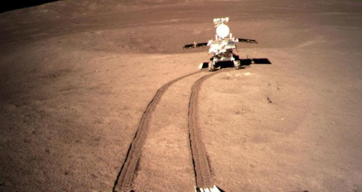 Zdjęcie drugiej strony Księżyca otrzymane z pomocą chińskiej sondy Chang'e-4