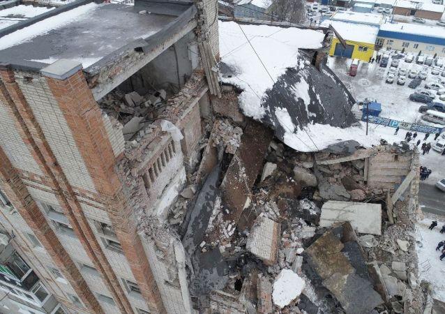 Liczba ofiar wybuchu gazu w bloku mieszkalnym w Szachtach wzrosła do 4