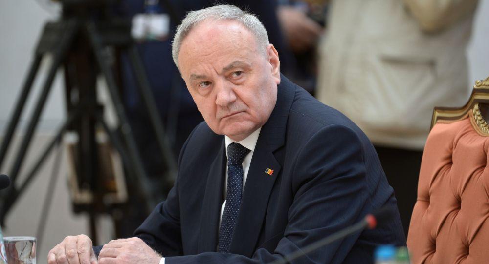 Prezydent Mołdawii Nicolae Timofti