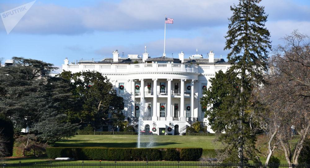 Biały dom w Waszyngtonie