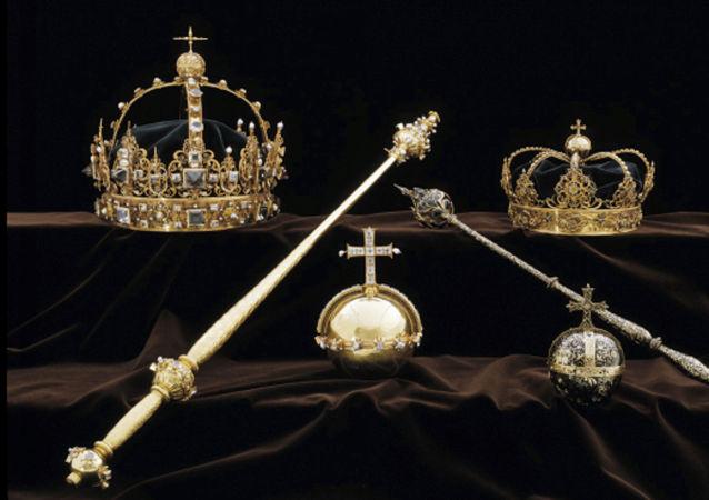 Korona króla Szwecji Karola IX Wazy