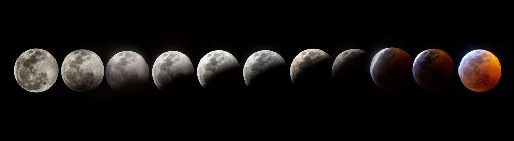 Zdjęcie faz Księżyca w USA
