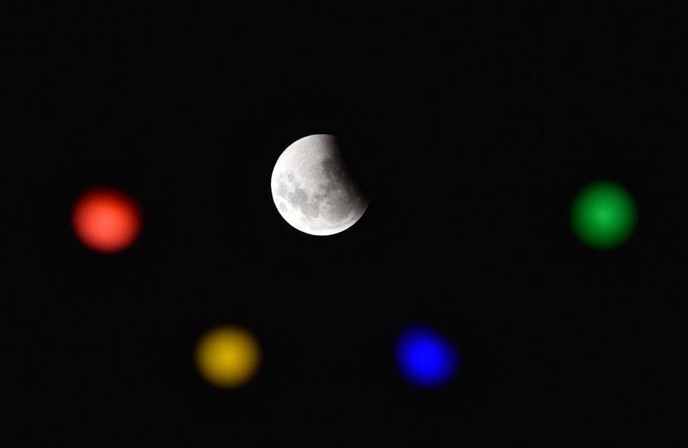 Pełne zaćmienie Księżyca w Urugwaju