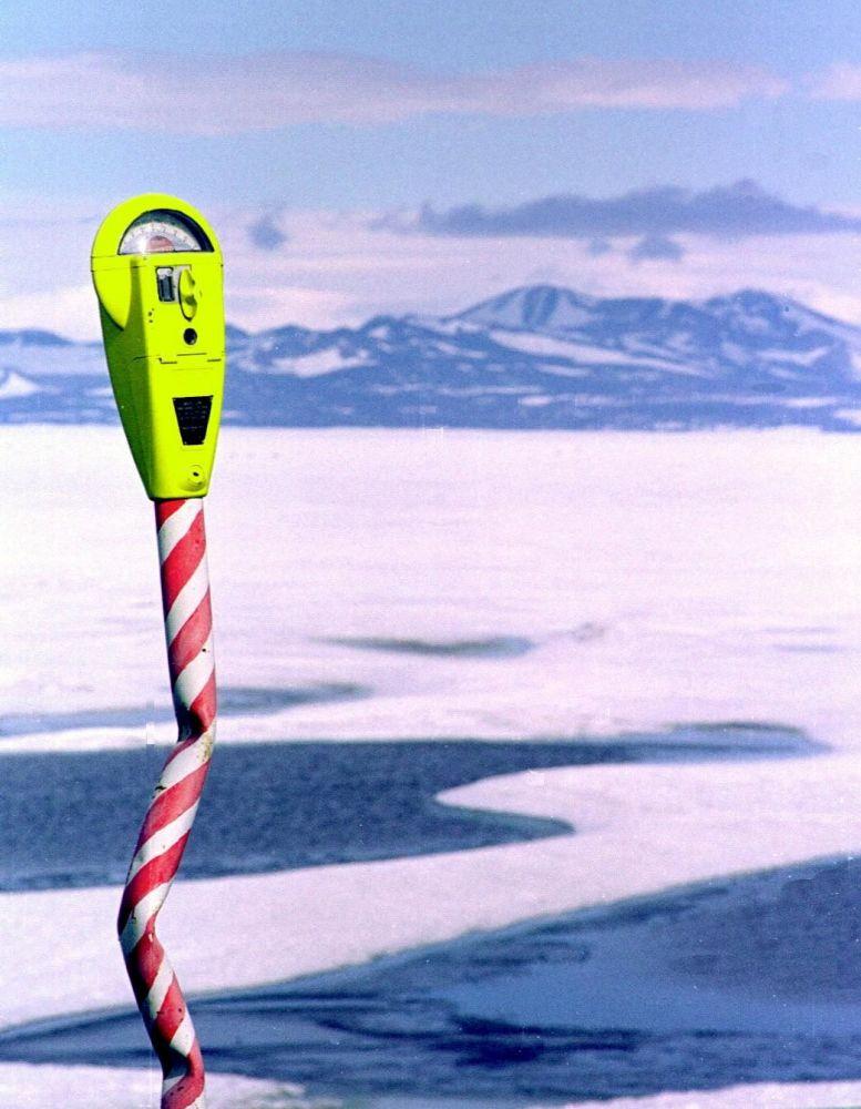 Parkometr na Antarktydzie