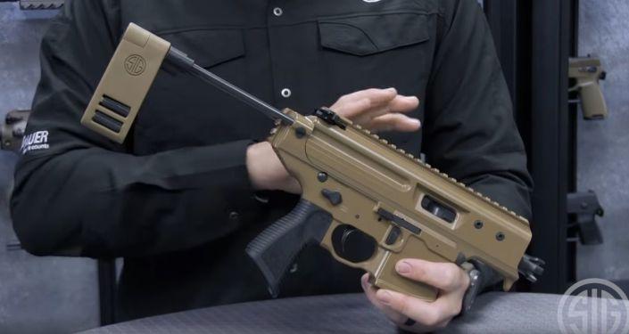 Kompaktowy mini pistolet maszynowy MPX Copperhead