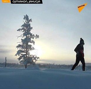 Maraton przy -52°С