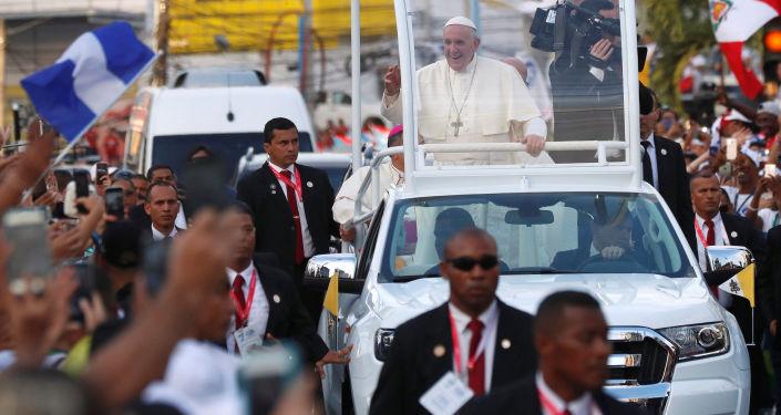 Papież Franciszek w Panamie