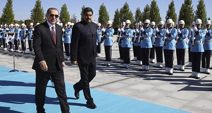 Nicolás Maduro i Recep Tayyip Erdogan