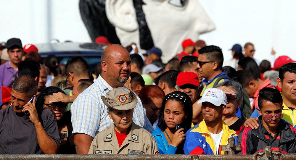 Zwolennicy Maduro