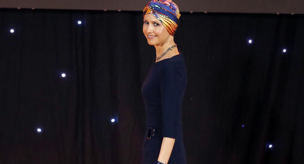 Żona prezydenta Syrii Baszara Asada Asma