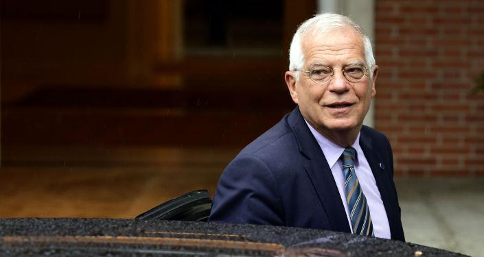Minister spraw zagranicznych Hiszpanii Josep Borrell