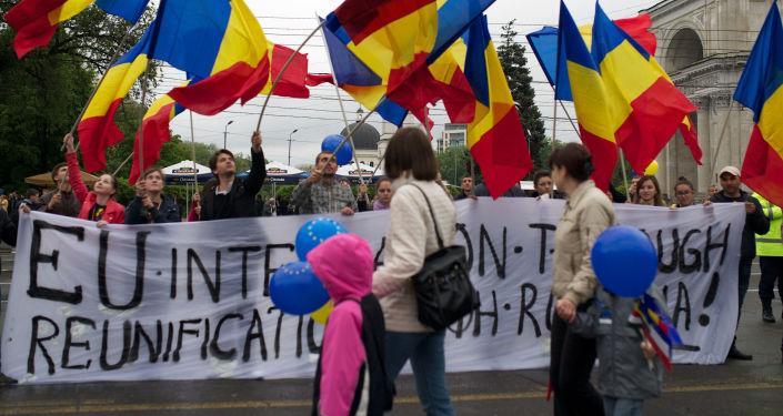 Akcja protestacyjna w Kiszyniowie