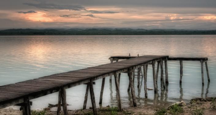 Jezioro Peten Itza, Gwatemala