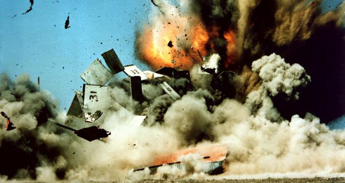 Testy amerykańskiego pocisku manewrującego Tomahawk