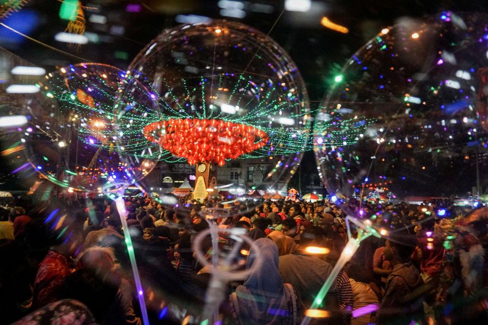 Obchody Chińskiego Nowego Roku w Indonezji