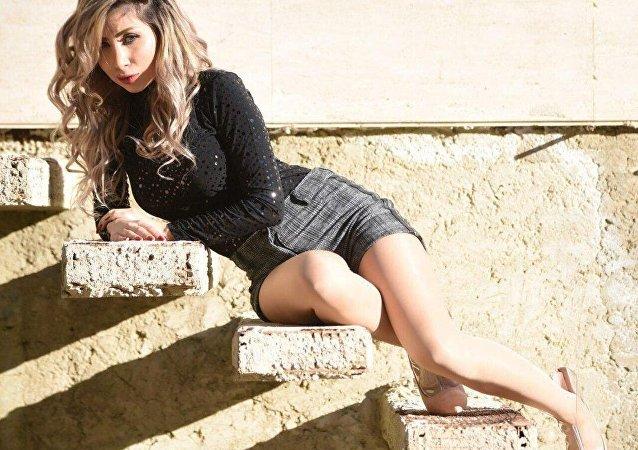 Syryjska aktorka Dana Nasri