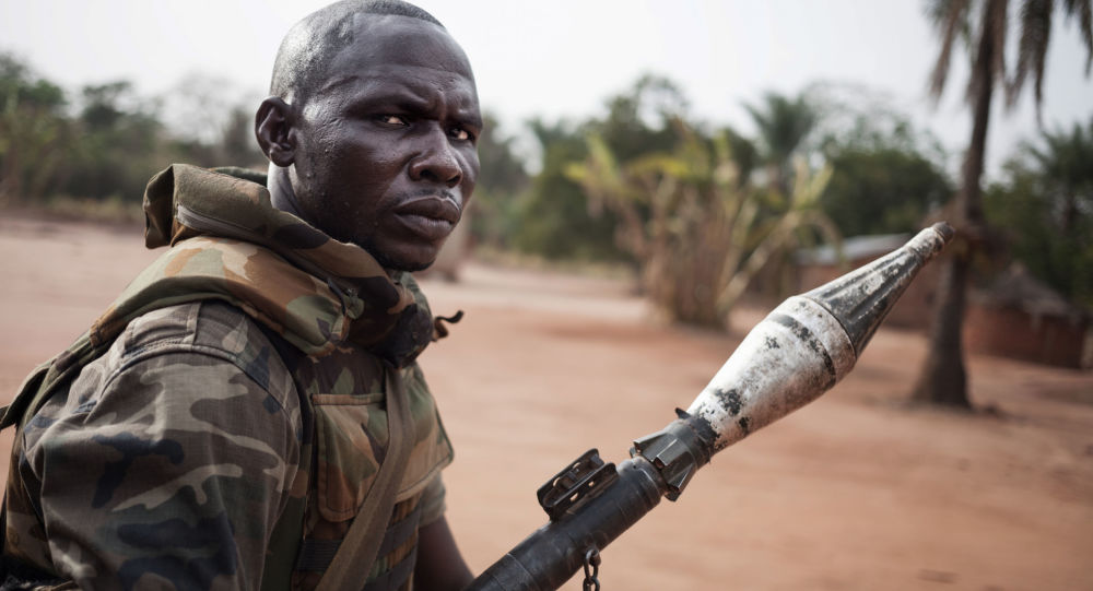 Żołnierz, Republika Środkowoafrykańska